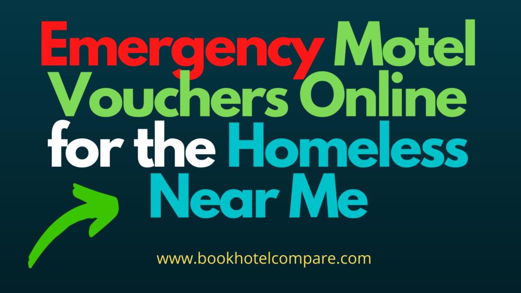 Homeless Motel Vouchers