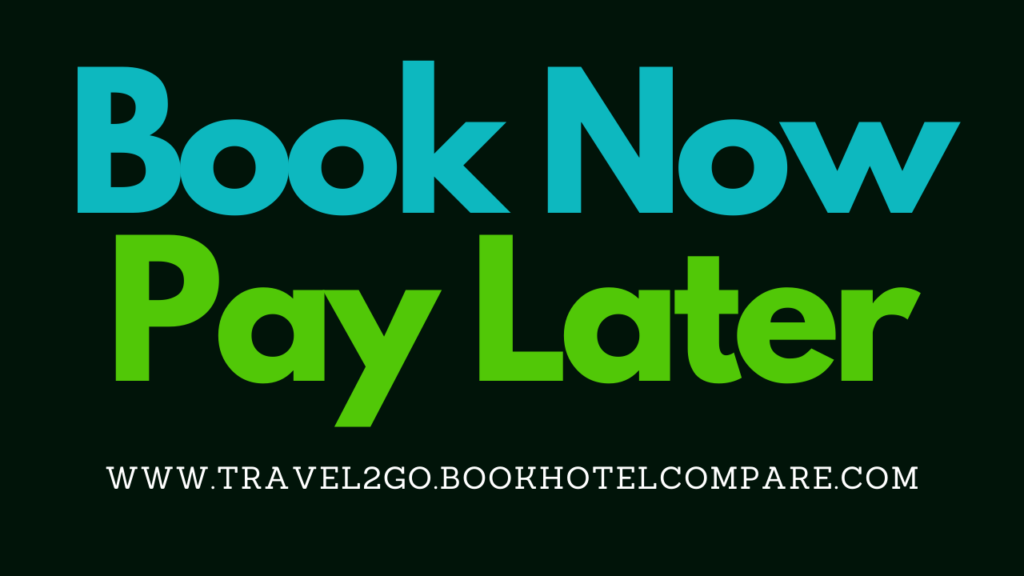 Book Now Pay Later