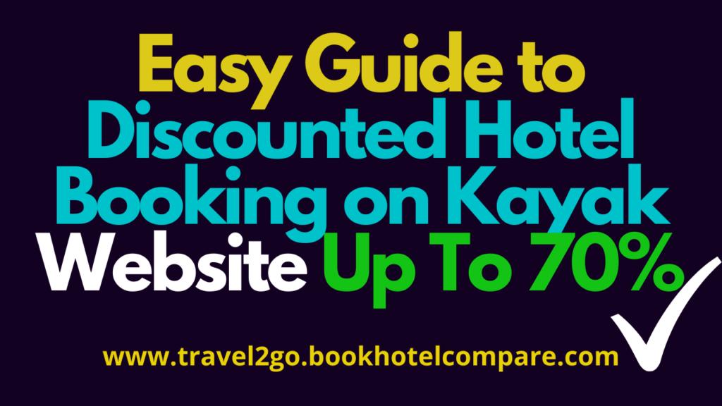 Hotel Booking Kayak